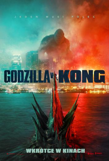 plakat do filmu GODZILLA VS KONG