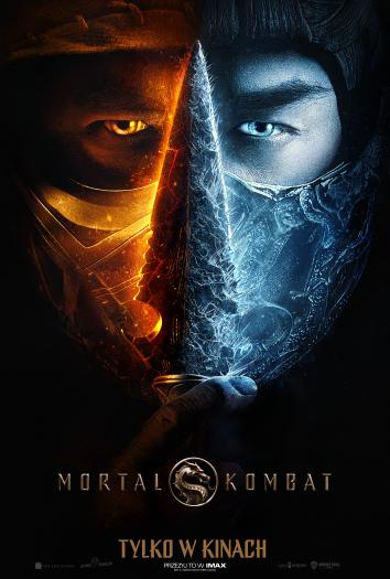 plakat do filmu Mortal Kombat