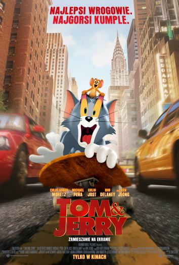 plakat do filmu Tom & Jerry